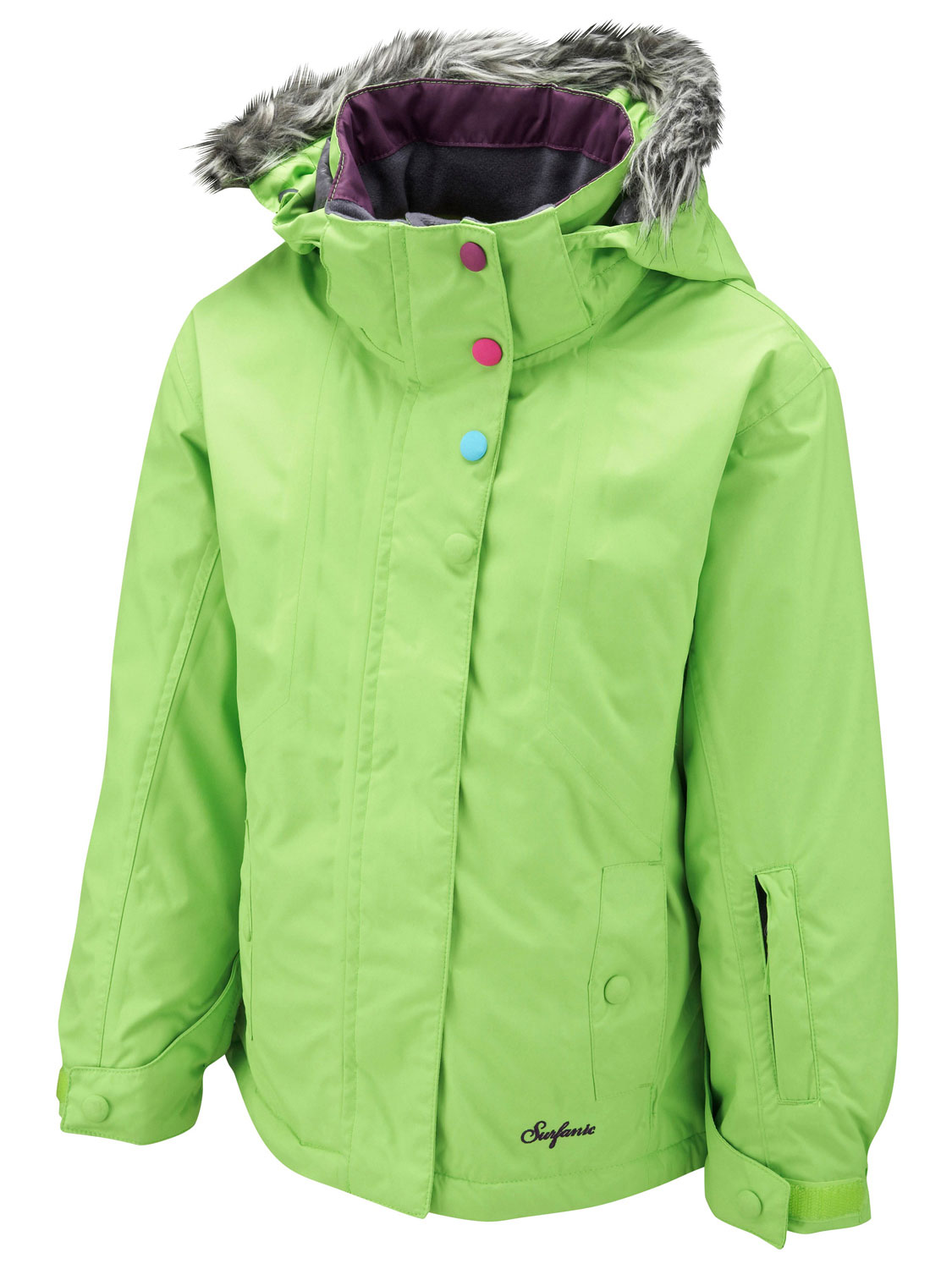 Protection from harsh winter weather is a concern and these jackets and coats are all designed to make it easy for kids to play outside with ease. For girls, look to jackets and coats inspired by trends like moto jackets and streamlined puffer coats.