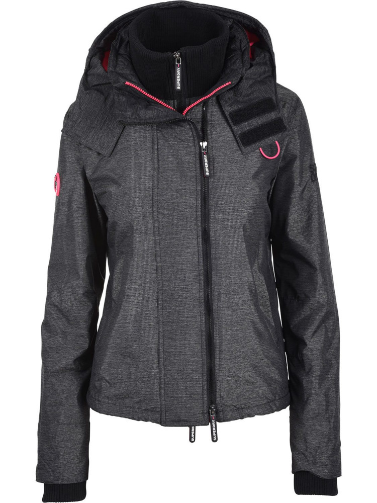 Arctic Hooded Pop Zip Windcheater