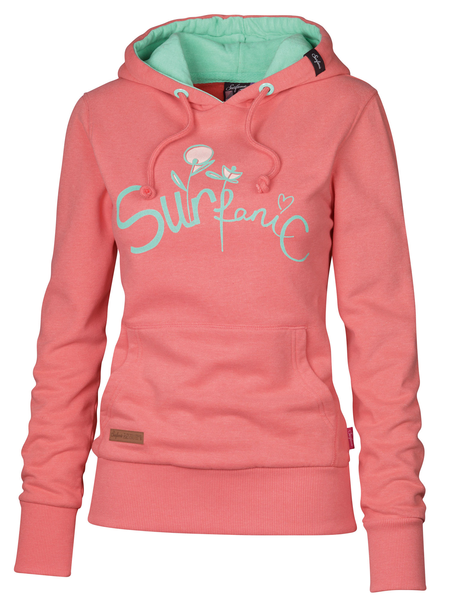 New Surfanic Womens Oceanside Hoodie Womens Hoody Beach