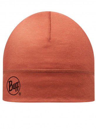 Mens Womens Solid Merino Wool Hat Orange