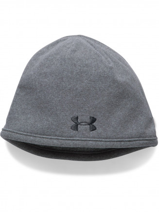 Mens Men's Survivor Fleece Beanie Grey