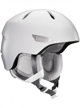 Mens Bristow Zipmold Plus Helmet White