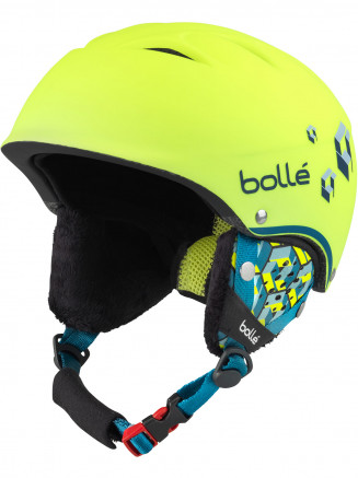 Girls B-free Helmet Yellow