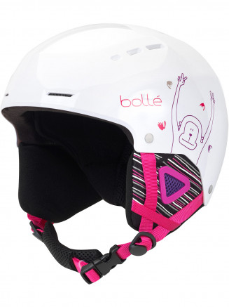 Kids Quiz Helmet White