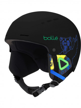 Kids Quiz Helmet Black