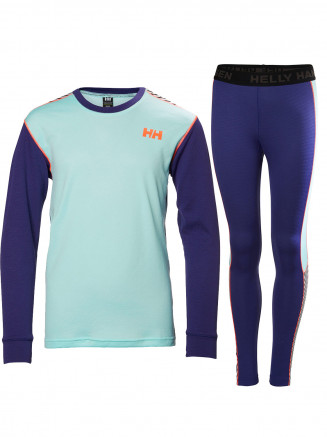 Childrens Lifa Active Set Purple