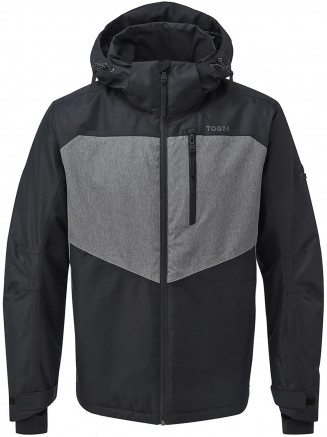 Mens Blade Waterproof Insulated Ski Jacket Black