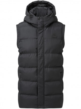 Mens Caliber Insulated Gilet Black