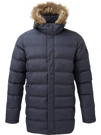 Mens Caliber Long Insulated Jacket Blue
