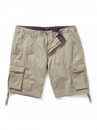 Mens Desert Shorts Grey