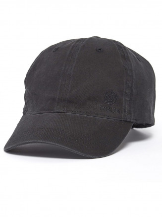 Mens Duke Twill Cap Black