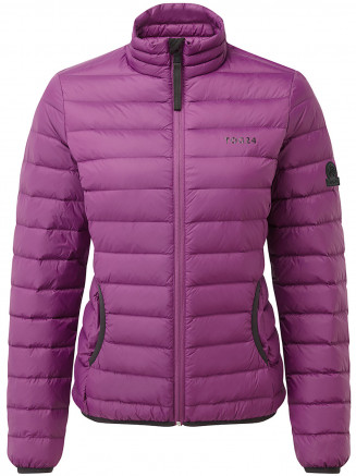Womens Elite Down Jacket Purple