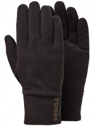 Mens Womens Elmet Gloves Black