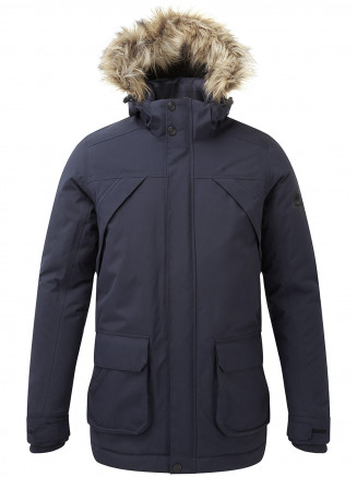 Mens Essential Waterproof Jacket Blue