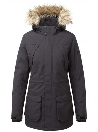 Womens Essential Waterproof Jacket Black
