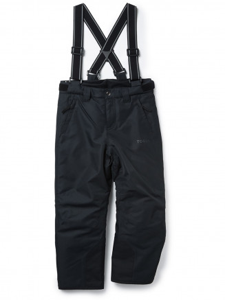 Kids Knot Waterproof Insulated Ski Pants Black