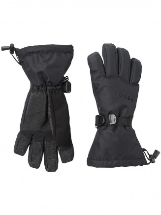 Mens Womens Lockton Ski Gloves Black