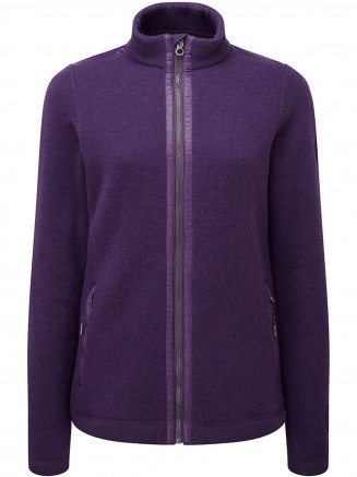 Womens Mega Tcz Wool Jacket Purple