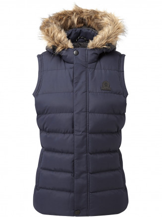 Womens Otley Insulated Gilet Blue