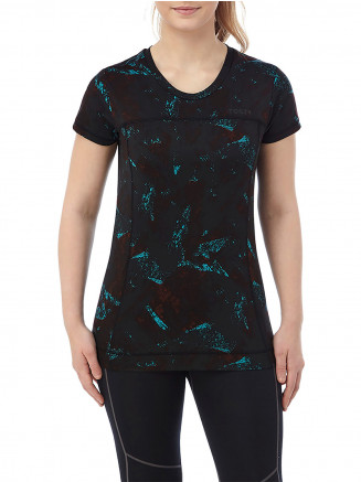 Womens Safila Stretch Performance Tshirt Black