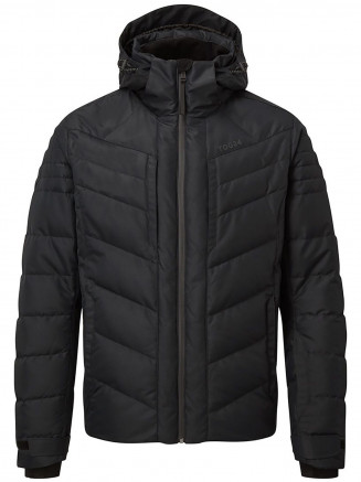 Mens Scar Milatex Down Jacket Black