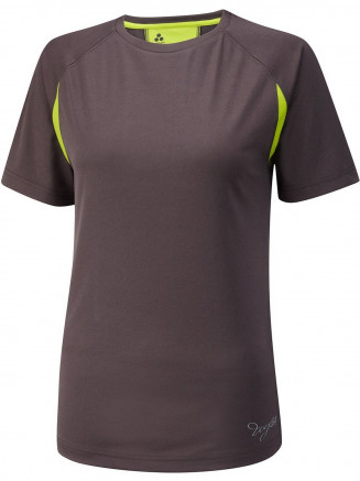 Womens Performance Sports T Shirt Grey
