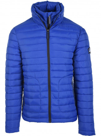 Mens Double Zip Fuji Blue