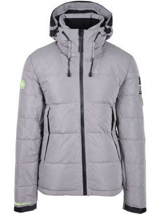 Mens Snow Shadow Down Jacket Grey