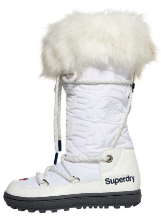 Womens Stealth Snow Boots White