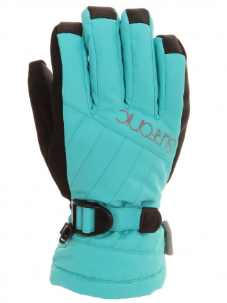 Girls Cushy Surftex Glove Blue