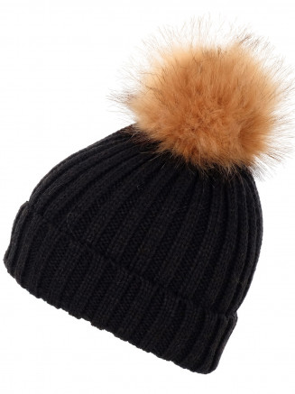 Mens Womens Stunner Beanie Black