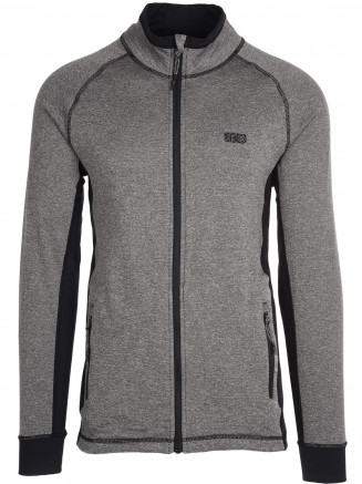 Mens Chris Waffle Fleece Grey