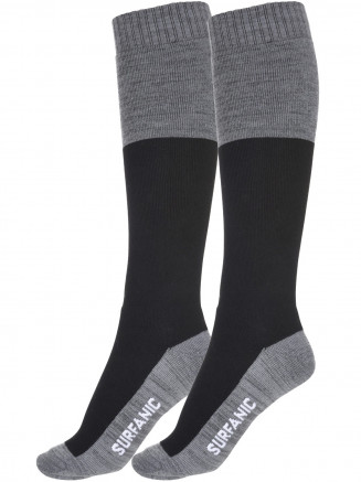 Mens Freeride Pro Tech 2 Pack Sock Black