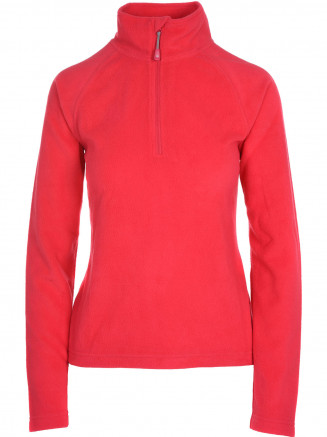 Womens Warm Zip Micro Fleece Pink