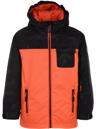 Boys Marvel Surftex Jacket Orange