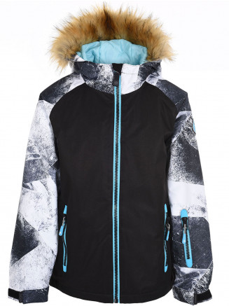 Girls Mirage Surftex Jacket White