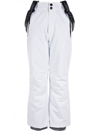 Girls Sparkle Surftex Pant White