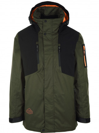 Mens Venture Hypadri Jacket Green
