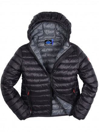Boys Hawk Lightweight Down Jacket Black