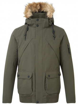 Mens Aviation Milatex Down Jacket Green