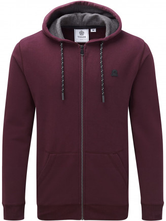 Mens Barlow Deluxe Zip Hoody Red
