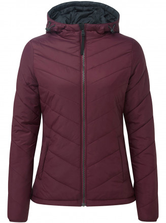 Womens Clancy Tcz Thermal Jacket Red