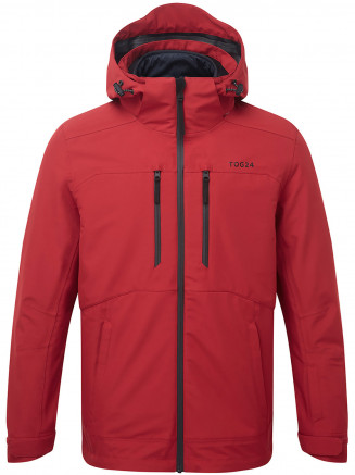 Mens Strike Milatex 3 In 1 Jacket Red