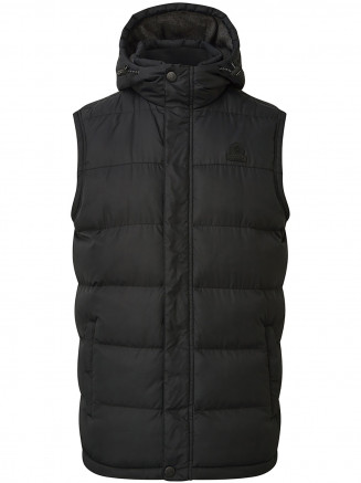 Mens Worth Tcz Thermal Gilet Black