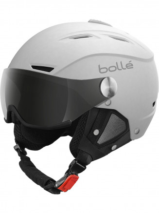 Mens Womens Backline Visor Helmet White