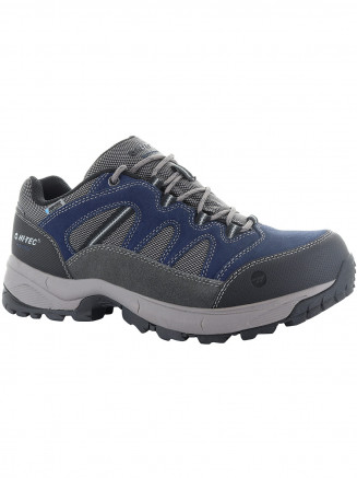 Mens Hi-tec Bandera Lite Low Wp Blue