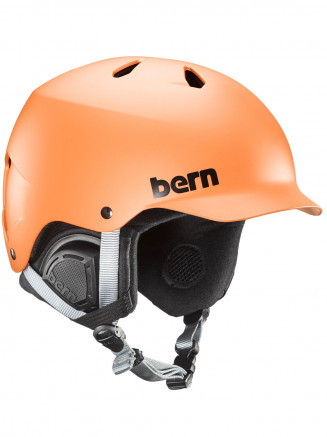 Mens Watts Eps Helmet With Liner Orange