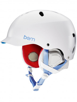 Womens Lenox Eps Helmet With Liner White