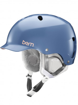 Womens Lenox Eps Helmet With Liner Blue