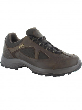 Mens Hi-tec Walk Lite Camino Wp Brown
